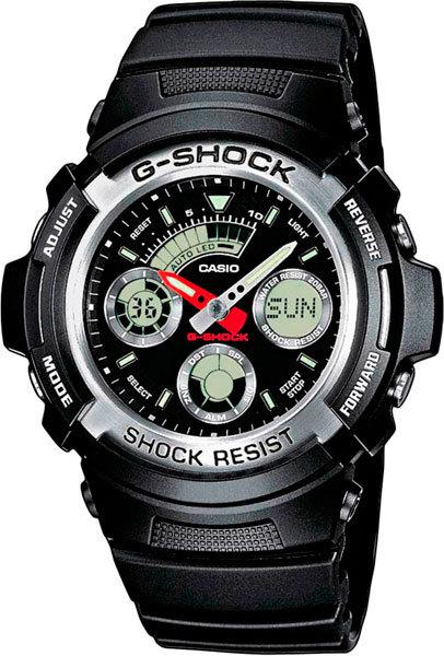 Часы Наручные CASIO AW-590-1A