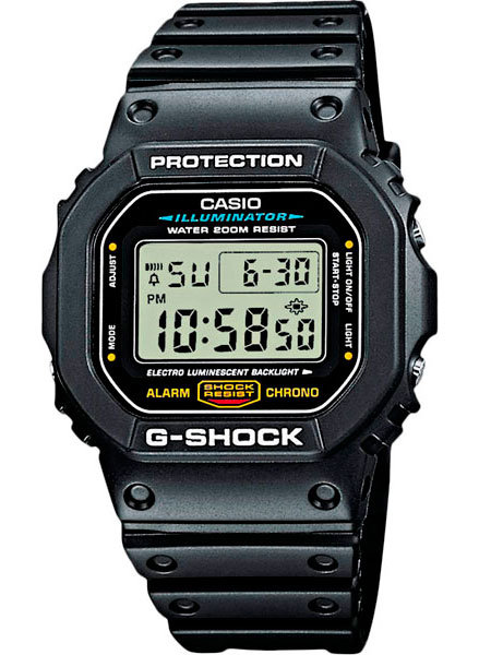 Часы Наручные CASIO DW-5600E-1V