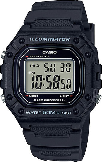 Часы Наручные CASIO W-218H-1A