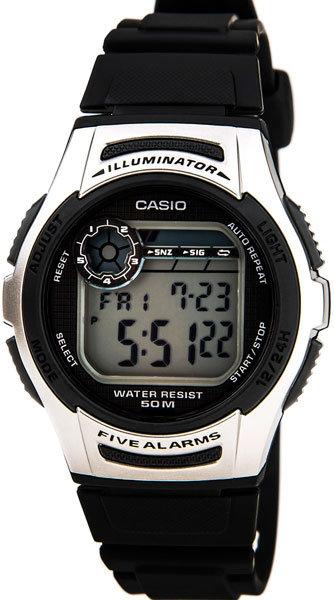 Часы Наручные CASIO W-213-1A