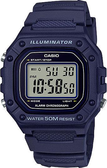 Часы Наручные CASIO W-218H-2A