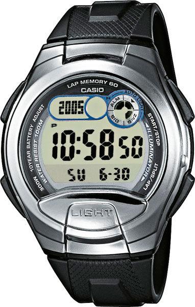 Часы Наручные CASIO W-752-1A