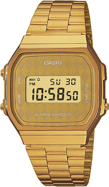 Часы Наручные CASIO A-168WG-9B