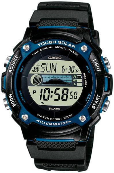 Часы Наручные CASIO W-S210H-1A