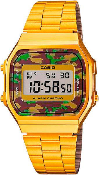 Часы Наручные CASIO A-168WEGC-3E