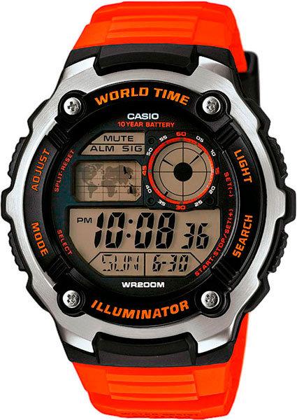 Часы Наручные CASIO AE-2100W-4A