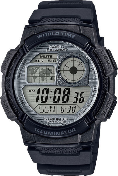 Часы Наручные CASIO AE-1000W-7A