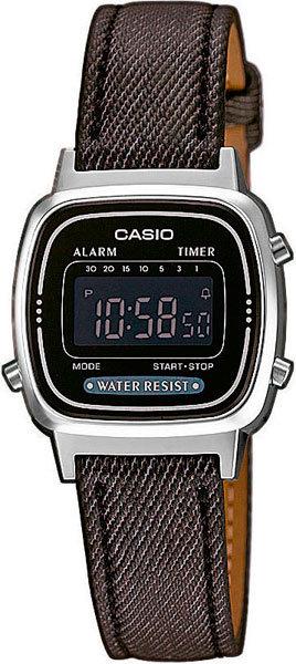 Часы Наручные CASIO LA-670WEL-1B