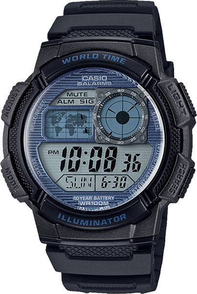 Часы Наручные CASIO AE-1000W-2A2