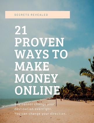 21 Proven Ways To Make Money Online.