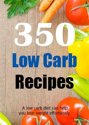 350 Low Carb Recipes