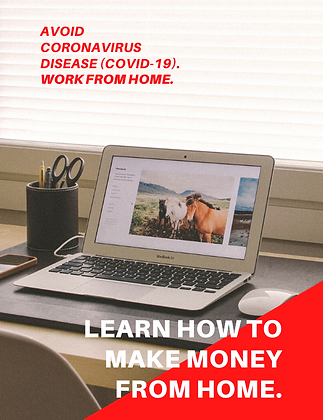 Avoid Coronavirus Disease (COVID-19). Work from Home.