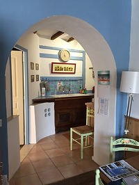 The kitchen, Central Olonzac Gite