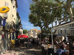 Cafes, bars a minute walk