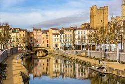 Narbonne city centre