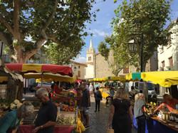 Olonzac food market
