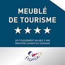 Classement 4 étoiles auprès de l' organisation officielle, 'Etoiles De France', Gite Maison En Pierre, Olonzac