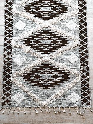 שטיח נורדי אפור גדול