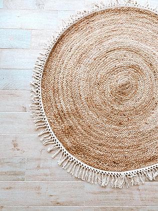 שטיח קש עגול