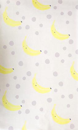 שטיח בננות ונקודות