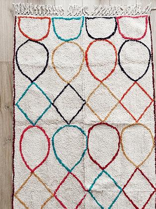 שטיח נורדי צבעוני