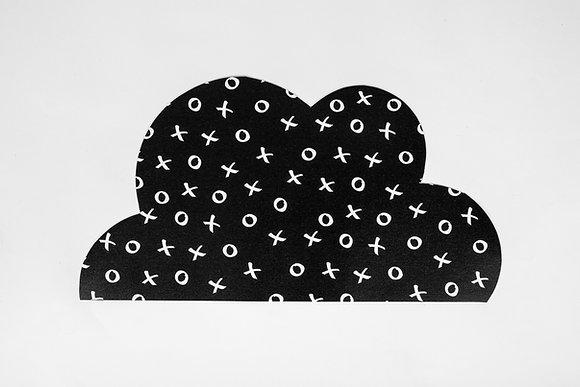 שטיח ענן שחור