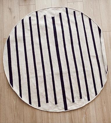 שטיח קווים כותנה