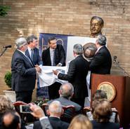 Unveiling of Armen Garo statue