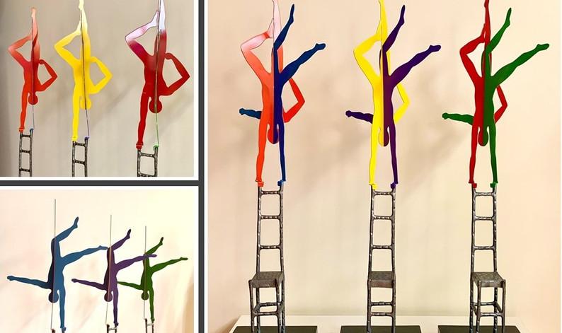 Acrobats 1/3, 2/3, 3/3