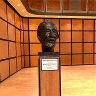 Alan Hovhaness bust