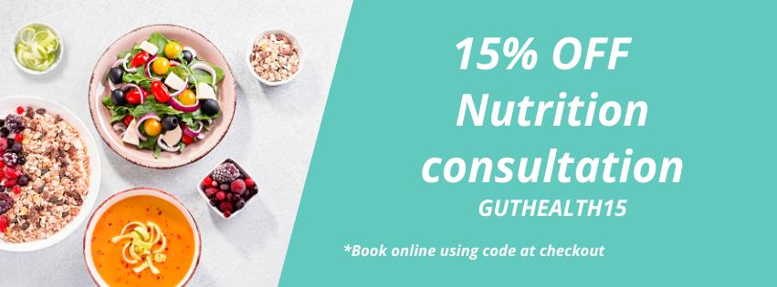 15%off  gut health
