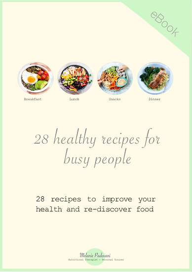 Free eBook - 28 Healthy Recipes