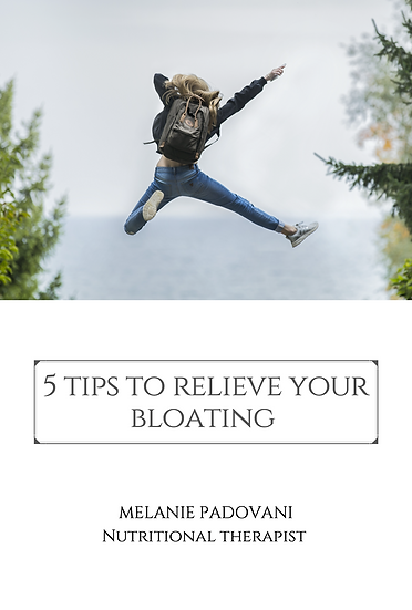 5 tips to relieve bloating