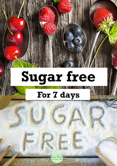 Sugar free for 7 days