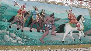 バゴー寺院の壁画2.JPG