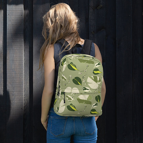 Variegated Houseplant Backpack