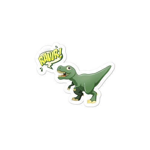 RAWR! Dino Kiss Cut Stickers