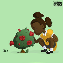 I Love Me Childrens Book Illustration
