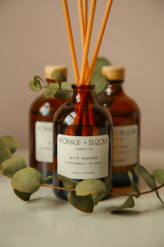 Scented Reed Diffuser by Forage & Bloom