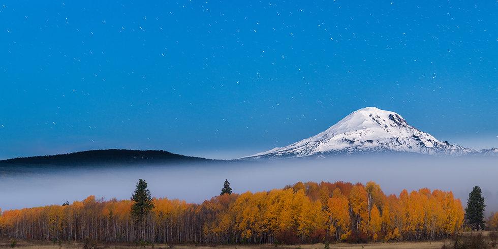 Mt Adams twilight
