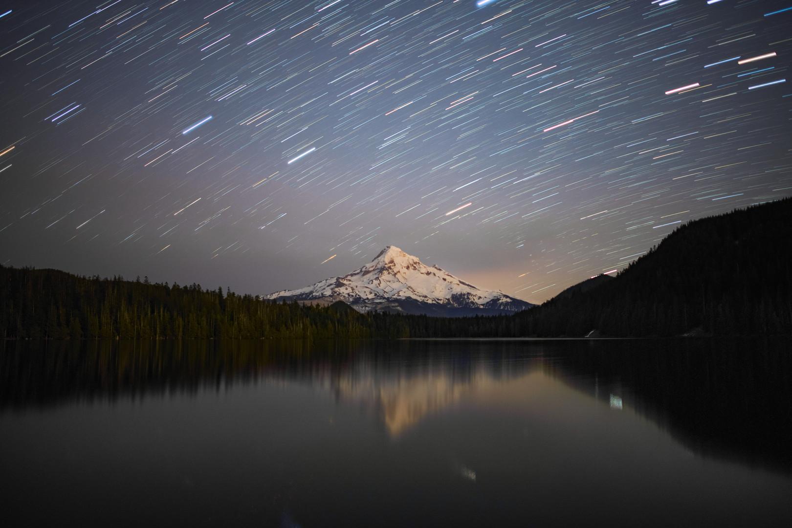 Lost lake falling stars