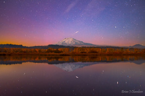 Mt Adams Shooting Star