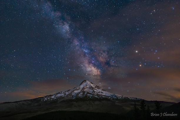 Mt Hood Milky Way