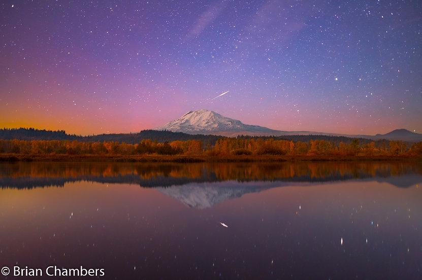 Mt Adams Shooting Star