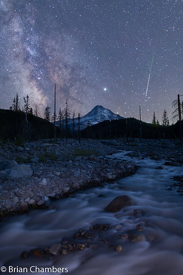 Mt Hood Shooting Star