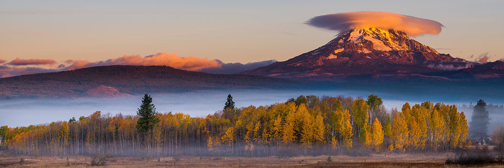 Mt Adams lenticular- fall