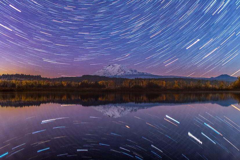 Mt Adams star trails