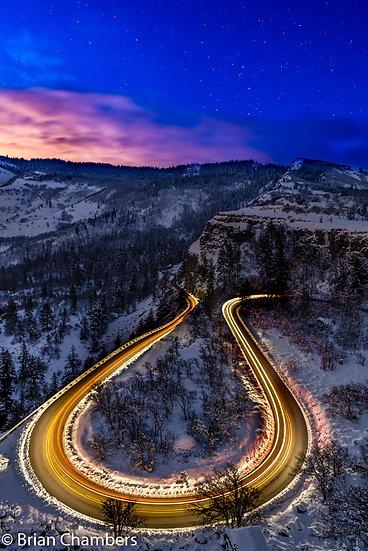 Rowena Loops- Winter night