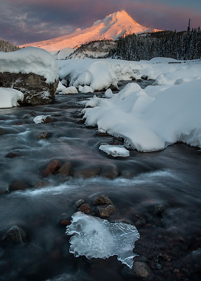 Icy White River