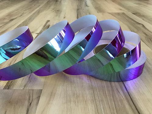 Purple Iridium Color Shifting Taped Hoop